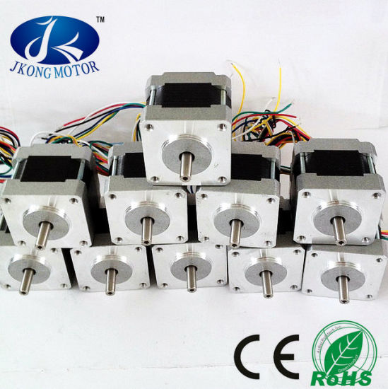 2 Phase Hybrid Stepper Motors NEMA16 1.8 Degree Jk39hy34-0306 pictures & photos
