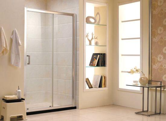 China Australian Standard Tempered Glass Sliding Door Bathroom