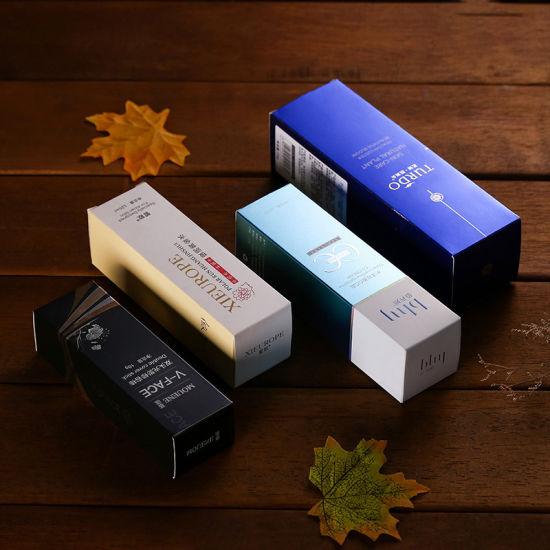 Wholesale Logo Printed Custom Makeup Cosmetic Packaging Box