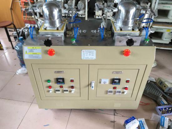 china two head auto cap steam ironing machine china steam iron