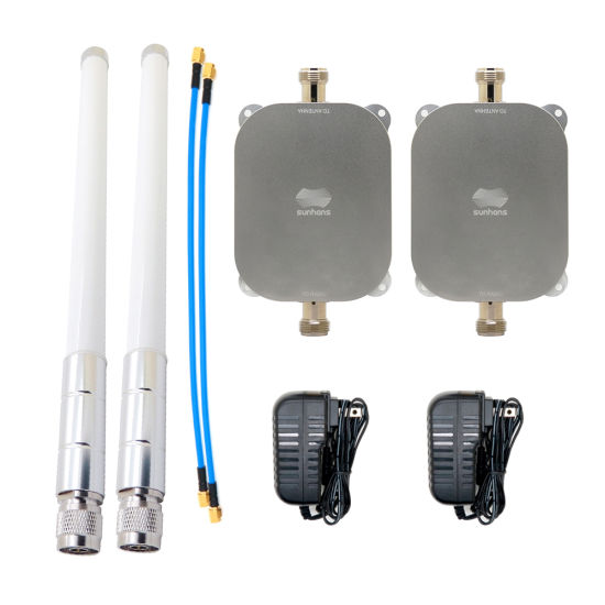 Sunhans Double Band 2.4 GHz. 5.8 GHz for Drone Wireless Signal Booster Range Extender Repeater with 5.8 GHz Supported IEEE 802.11