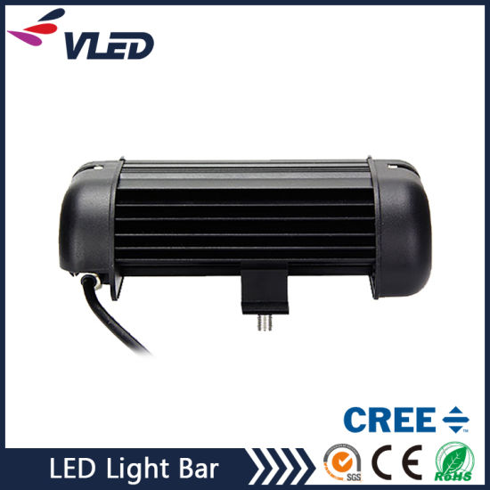 "7.9"" 40W 3200lm Single Row CREE LED Light Bar Wholesale pictures & photos"
