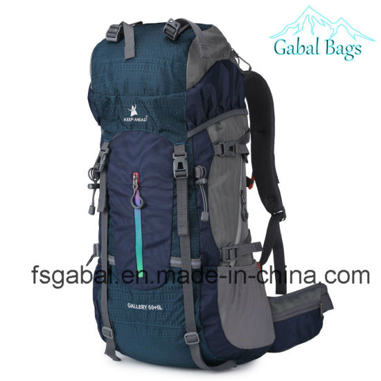 Outdoor Mountain Climbing Sports Bag Travel Camping Backpack pictures & photos