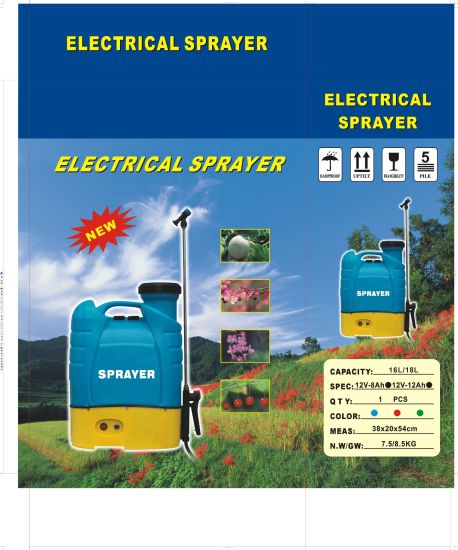 16L Agriculture Knapsack Electric Power Sprayers pictures & photos