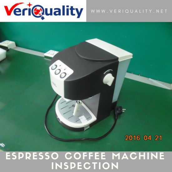 Espresso Coffee Machine Quality Control Inspection Service at Shunde, Guangdong pictures & photos
