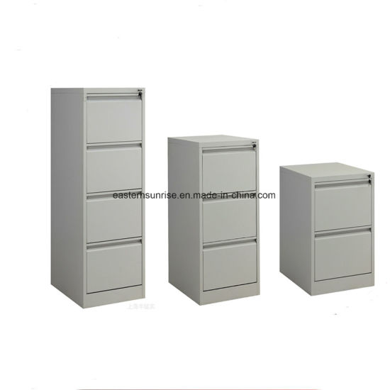 Cheap Strong Four Drawer Metal Steel Iron Storage Filing Cabinet pictures & photos