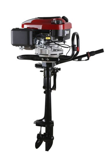 4 Stroke Air-Cooled Loncin Engine 196cc 6.5HP Outboard Motor / Outboard Engine /Boat Engine