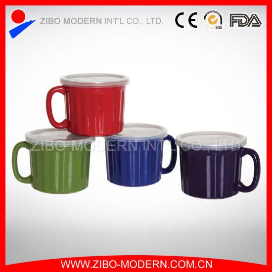 SET OF 6 PORCELAIN COFFEE TEA SOUP MUG CUP KITCHEN DRINKING LARGE GIFT 11oz NEW