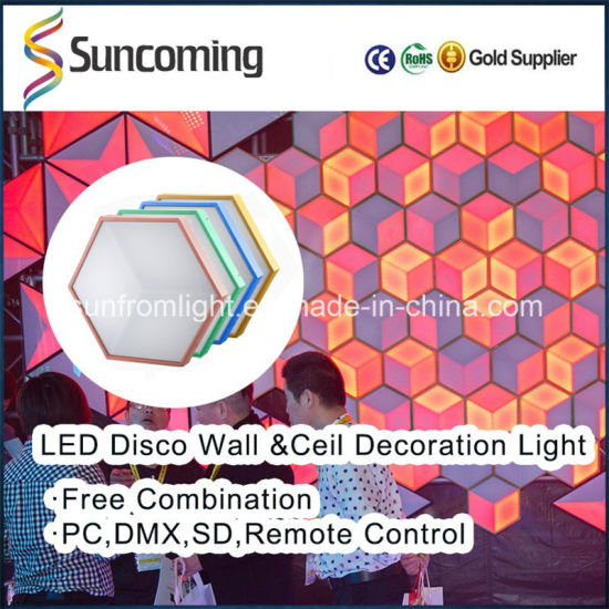 Best Decorative LED 3D Vision Backdrop Panel for Wall or Ceiling