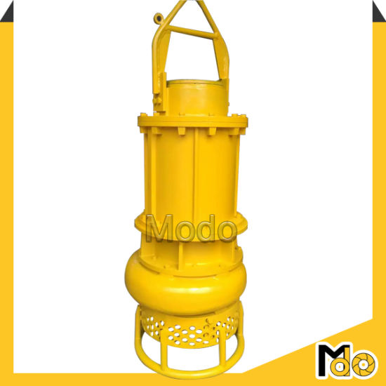 2.4inch Solid 16inch Outlet Submersible Slurry Pump pictures & photos