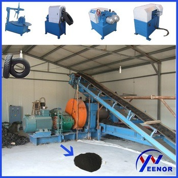 Environment Friendly Used Tire Recycling Machine / Rubber Grinding Machine for Tyre Recycling pictures & photos