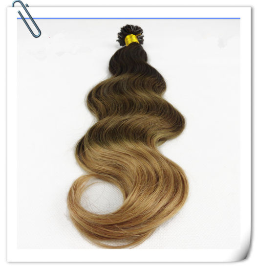 Wholeslae U Tip Hair100% Brazilian Remy Hair Extension pictures & photos