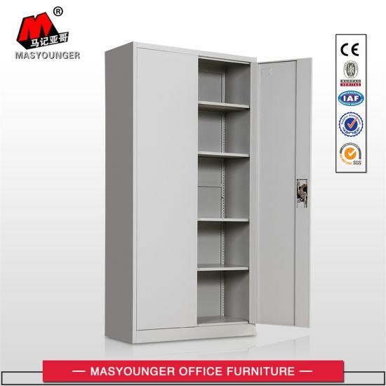 Use Grey Color Metal Swing Door