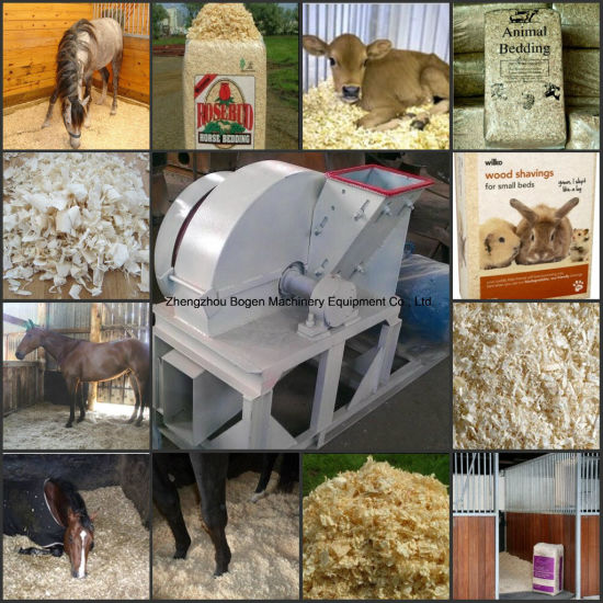 Top Quality Wood Shaving Machine for Horse Bedding pictures & photos
