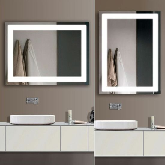 China Manufacturer Led Magnifying Bath Mirror Wall Mounted Lighted Bathroom Mirror China Led Mirror Illuminated Mirror Made In China Com