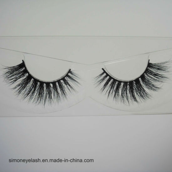 High Quality Strip False Eyelash Handcraft Natural Seribian Mink Lashes pictures & photos