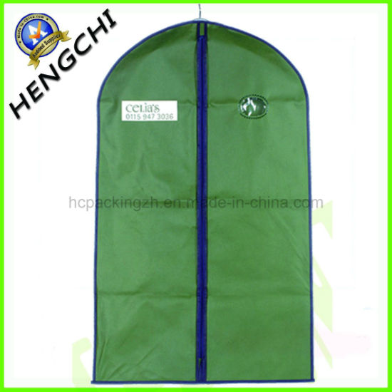Non Woven Reusable Clothes Packing Garment Suit Cover pictures & photos