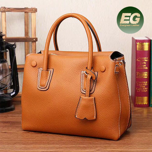 Ladies Leather Bags Wholesale Guangzhou Fashion Modeling Tote Handbags Woman  Shopping Handbag Emg5304 pictures   photos cc569c8fad2b8