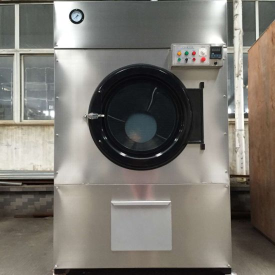 Commercial Laundry Electric Steam Gas Heated Tumble Drying Machine (SWA)