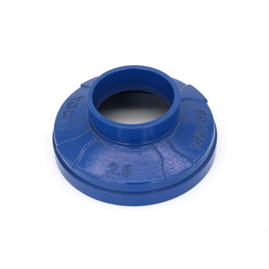 FM/UL Certificated Ductile Iron Pipe Fittings Threaded Concentric Reducer for Mine Industry