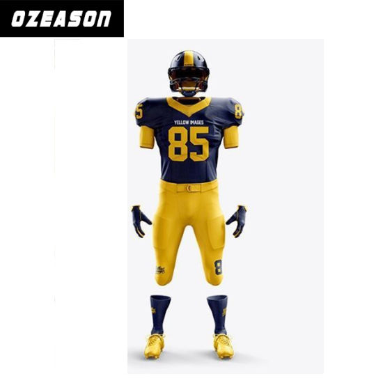 c07e9118d29 China 2015 New Style 100% Polyester American Football Shirt - China ...