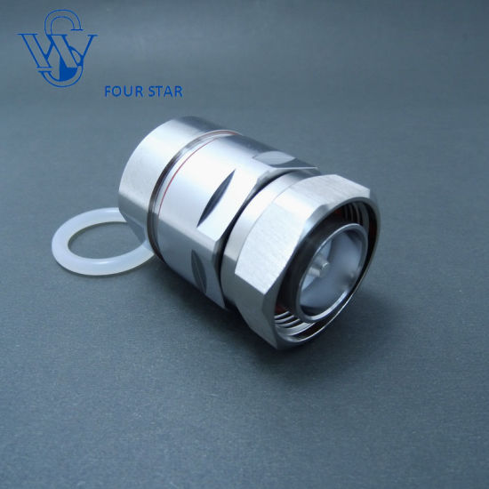 China High quality 7/16 DIN Male Connector for 7/8′′ Feeder