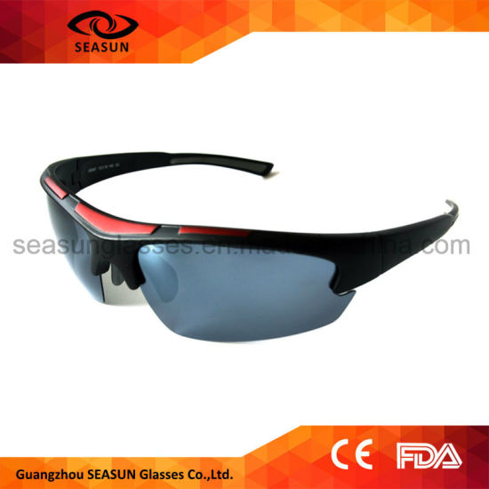 85cb8e41a9 Polarized Mens Fishing Sunglasses Adjustable Nose Piece Outdoor Sports  Sunglasses