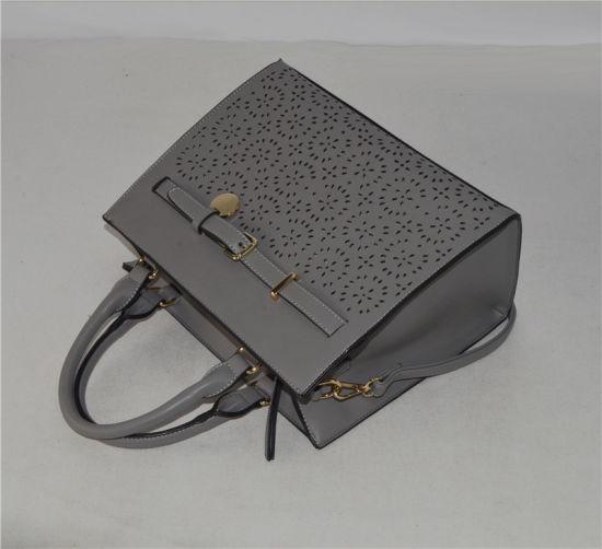 04e79684a0 Designer Perf PU in Front Panel Shoulder Handbag with Adjustable Shoulder  Strap (ZXK1865)