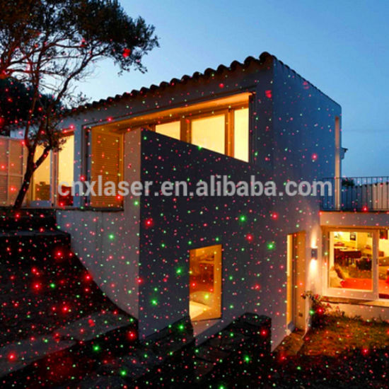 cheap price outdoor garden laser light mini decoration moving tree landscape christmas laser light projector