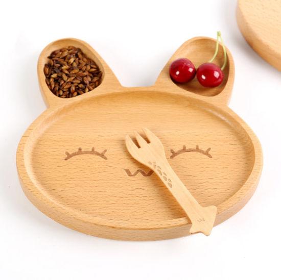 Wooden Cartoon Lovely Dinner Plate for Children  sc 1 st  Fuzhou Haomin Imp. u0026 Exp. Co. Ltd. & China Wooden Cartoon Lovely Dinner Plate for Children - China Dinner ...