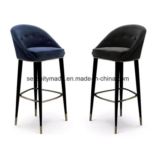 Charmant Modern Restaurant Upholstered Leather High Bar Stools Chair
