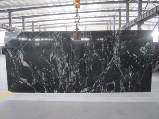 Nero Fantasy / Granite Slab for Kitchen/Bathroom/Wall/Floor pictures & photos