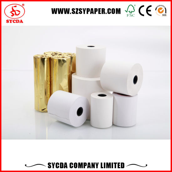 Thermal Paper Roll with Customized Design pictures & photos