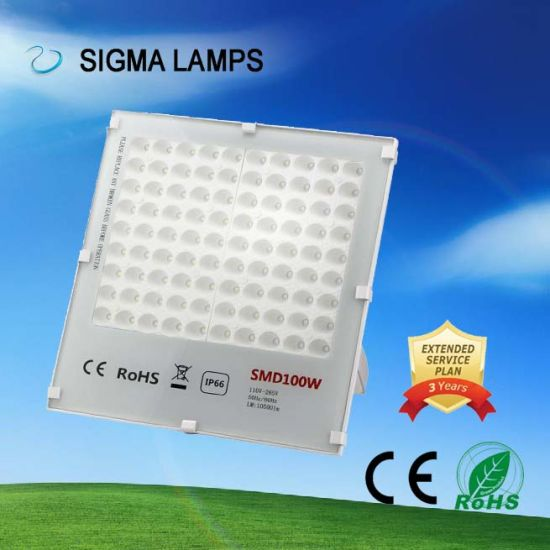 Sigma Energy Saving Alum 30W 50W 100W 150W 200W 300W IP65 Waterproof LED Flood Bulbs pictures & photos