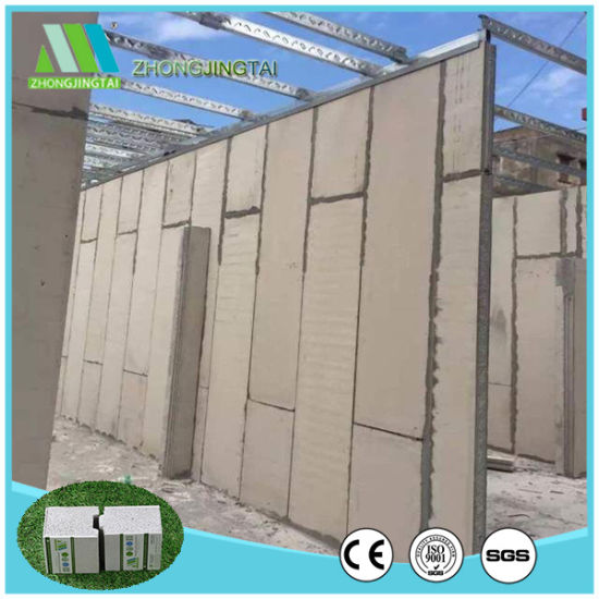 Insulated Styrofoam Roof/Floor/Interior/Exterior Wall Building  Materials/Cement Board/Insulated Panels for Partition Wall