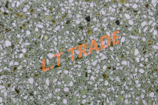 Wear Resistant Easy Maintenance Can Be Refurbished Green Color Range Terrazzo Tiles
