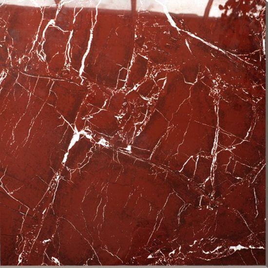 China Ceramic Floor Designs Red Color Porcelain Tile China