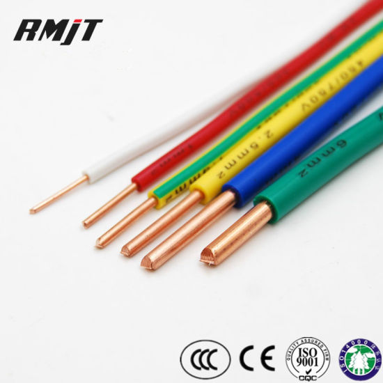 Attraktiva China H07V-U H05V-U H07V-R 1.5mm 2.5mm Electric BV Kabel PVC AH-62