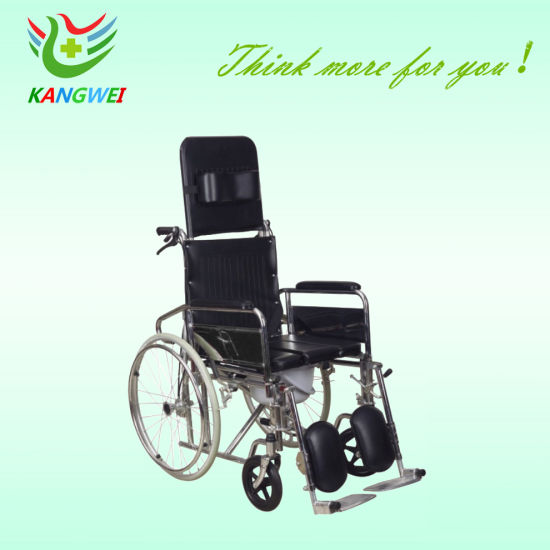 Medical Care Steel Wheelchair Manual Reclining SLV-D4033