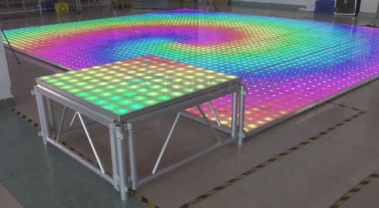 65W 10X10pixels Digital Video LED Dance Event Floor pictures & photos