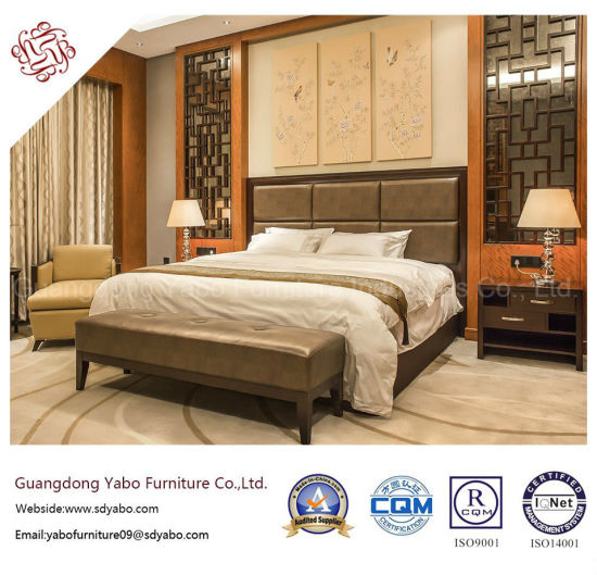 Chinese Style Hotel Furniture With Wood Bedroom Set F 3 1