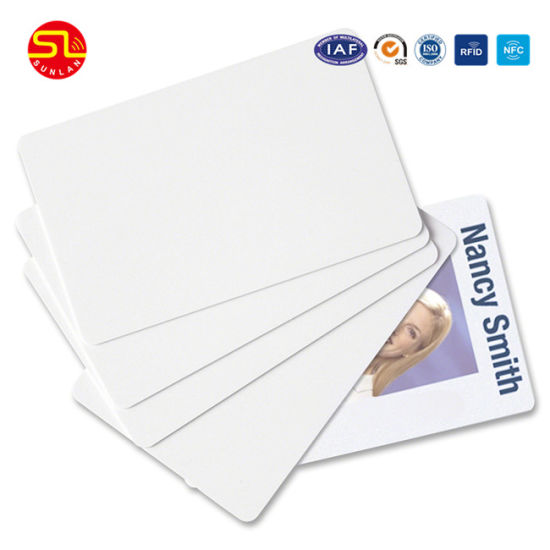 High Quality Printable RFID Blank Chip Card pictures & photos