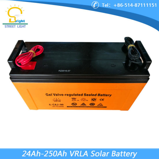 250ah Battery for Solar Lighting pictures & photos