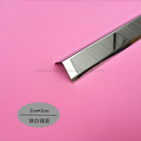 China Hot Decorative Metal Trim For Furniture Customized Tile Edge Protection