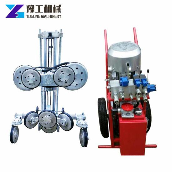 China Diamond Wire Cutting Saw Machine Road Sawer for Sale - China ...