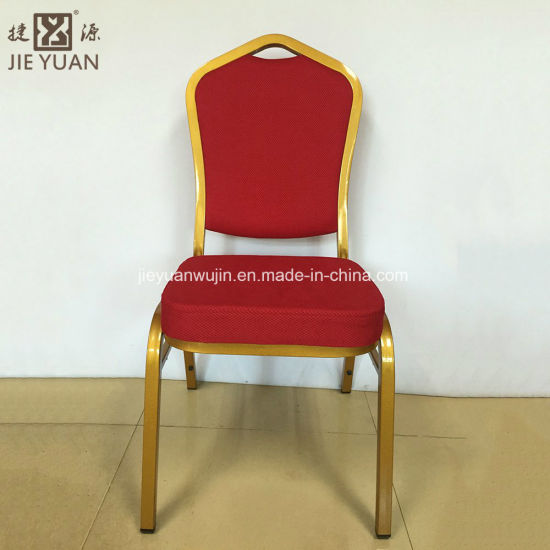 Wholesale Matel Aluminum Cheap Hotel Hall Wedding Used Stackable for Sale Banquet Chair
