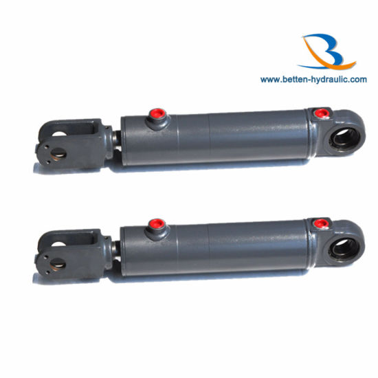 Double Acting Piston Hydraulic Oil Steering Cylinder Pictures Photos