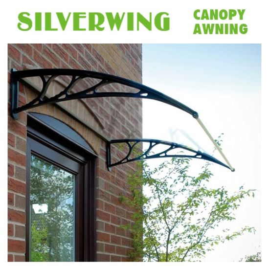 Outdoor Clear Plastic Canopy Rain Protection For Door Awning YY B