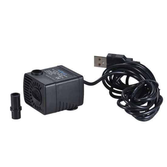 Mini 120L/H 5V DC Water Aquarium Pump for Small Fountain pictures & photos