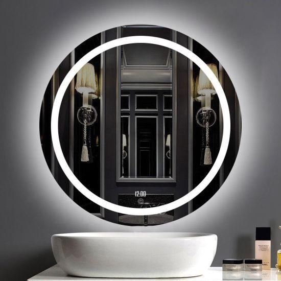 Hot Er Rectangle Hotel Luxury, Luxury Vanity Mirror With Lights